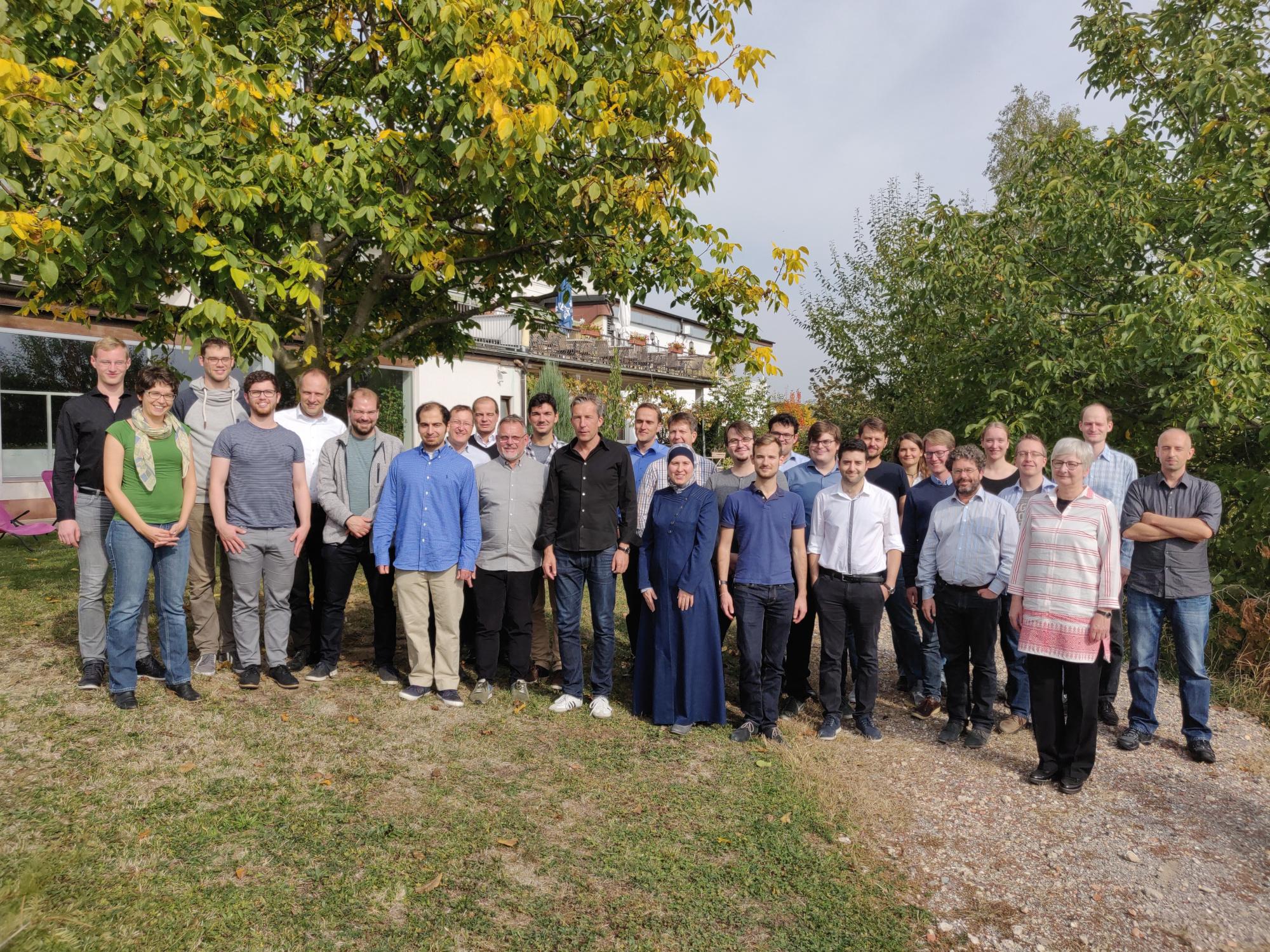 Graduierte, Betreuer und assoziierte Forscher (2018)